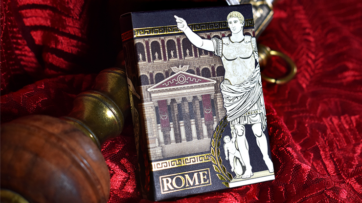 Rome Playing Cards (Augustus Edition) by Midnight Cards